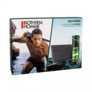 Biotherm Homme Age Fitness set cadou Crema pentru barbati 50 ml + portcard pentru bărbați