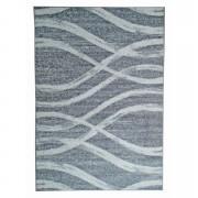 Tapijt Florence - grijs/wit - 160x230 cm - Leen Bakker