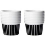 Rörstrand Filippa K Kaffe/Temugg Pinstripes 2-pack 2 st/paket