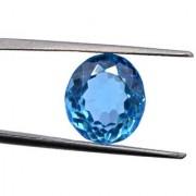3.08 Ratti Best quality Blue Topaz stone Lab Certified
