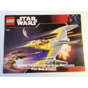 INSTRUCTION MANUALS for Lego Star Wars Set #7658 Y-wing Fighter