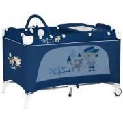 Кошара за спане и за игра Lorelli Travel Kid 2 Layers Blue Jack, 10080221537