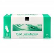 Abena - Vinyl Handschoenen - Wit - Poedervrij - Maat S - 100 Stuks