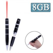 3 in 1 Laser Pen Style USB Flash Disk8GB (Black)