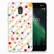 B2Ctelecom Nokia 2 TPU bumper Dots
