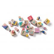 Manhattan Toy Cubes en Bois - 33 Pièces