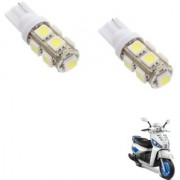 Auto Addict Scooty T10 9 SMD Headlight LED Bulb for Headlights Parking Light Number Plate Light Indicator Light For Mahindra Gusto 125
