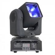 Ibiza LMH410Z Cabeza móvil con 4 luces LED RGBW 4 en 1 de 10 W, zoom y DMX