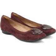 Clarks Candra Blush Aubergine Slip on(Brown)