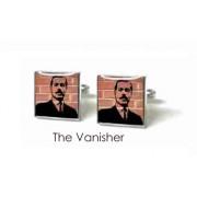 Tyler & Tyler Stencilart Red Bricks Cufflinks The Vanisher