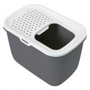 Toaleta pro kočky Savic Hop In - pískově béžová / bílá