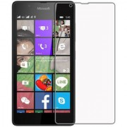 Tempwala 2.5D Curved 9H Hardness 0.3 mm Premium Tempered Glass Screen Protector For Microsoft Lumia 430 Dual SIM