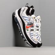 Nike Wmns Air Max 98 Premium White/ Teal Nebula-University Gold-Black