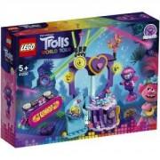 Конструктор Лего Тролчетата - Техно-парти в рифа - LEGO Trolls World Tour, 41250