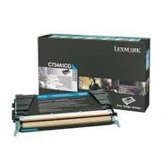Lexmark C734A1CG toner cian