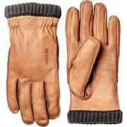 Hestra Deerskin Primaloft Rib Glove Brun Herr