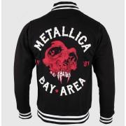 Herren Hoodie Metalllica - Bay Area Skull - Black - ATMOSPHERE