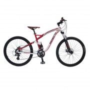 Bicicleta Benotto DS-800 Alum R27.5 24V Shi Altus Fnos DDM Rojo Talla:M-L