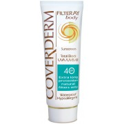 Coverderm Filteray Body Total Block SPF40 - 100ml / 3.38 fl. oz