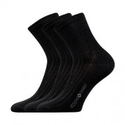 Lonka 3PACK ponožky Lonka černé (Demedik) S