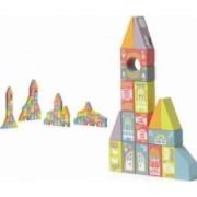 Jucarie din lemn Cubika Set constructii Oraselul fabulos