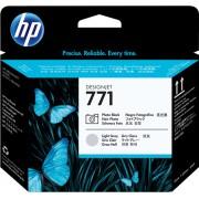 HP 771 Tête d'impression noir(photo)/gris(clair) Original CE020A