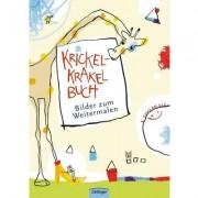 Oetinger Krickel-Krakel-Buch, Bilder zum Weitermalen