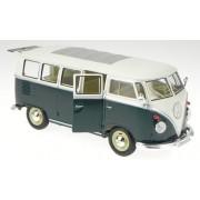 Welly Vw T1 Bus Bulli Grün-Weiss Modellauto 22095 1: 24
