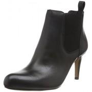 Clarks Women's Carlita Quinn Black Boots - 7 UK/India (41 EU)