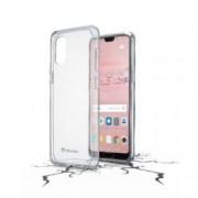 Калъф за Huawei P20 Pro, страничен протектор с гръб, гумен, Huawei P20 Pro, прозрачен
