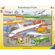 Puzzle Ravensburger - Mic Aeroport, 40 piese (06700)