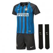 Nike Kids' Breathe Inter Milan Kit - maglia pantalone calzini calcio bambino - Blue/Black