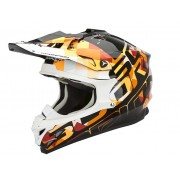 Scorpion EXO VX 15 EVO AIR GRID Orange Casca MotoCross Marimi XL 59-60 cm