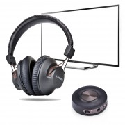 Avantree aptX Low Latency Bluetooth Headphones & Transmitter TV Bundle