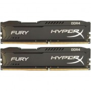 Memorie HyperX FURY Black 8GB, DDR4, 2400MHz, CL15, 1.2V, kit 2x4GB