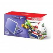 Consola New Nintendo 2DS XL + Mario Kart 7-Morado/Plata