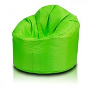 Ink Craft green Hi-Back Gamer Bean Bag Chair Cover Only - XXL