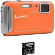 Panasonic Compact PANASONIC DMC-FT30 Orange + 2ème