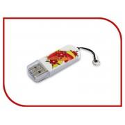 USB Flash Drive 16Gb - Verbatim Mini Tattoo Edition USB 2.0 Fish 49886