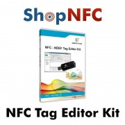 NFC Tag Editor Kit (Reader/Writer + Software)