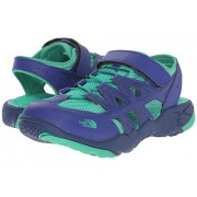 The North Face Hedgehog Sandal (ToddlerLittle KidBig Kid) Marker BlueBlarney Green