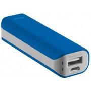 Trust 21222 Caricabatterie Portatile Batteria Supplementare 2200 Mah Usb / Microusb Per Telefono Cellulare Smartphone Tablet Colore Blu - 21222 Primo