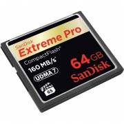 SanDisk Extreme Pro CompactFlash 64 GB Memory Card UDMA 7 Upto 160 MB/s (SDCFXPS-064G-X46)