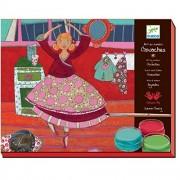 Djeco Princess Ballerina Gouaches Set (17 pc)