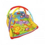 Saltea de Joaca cu Protectii Laterale Happy Baby - Circus
