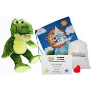 "Stuffems Toy Shop Haga su Propio Peluche Animal Al E Gator 16 ""- No Sew Kit con Bonita Mochila."