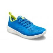 Crocs LiteRide™ Pacer Schoenen Kinder Bright Cobalt / Citrus 32