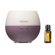Set difuzor ulei esential (33150005)+ ulei lamaie doTERRA(60204656)
