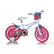 Bicicleta pentru fetite Barbie diametru 14 inch