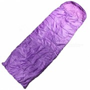 Actividades al Aire Libre Tipo de Sobre de Acampamento Saco de Dormir para Adultos - Purpura